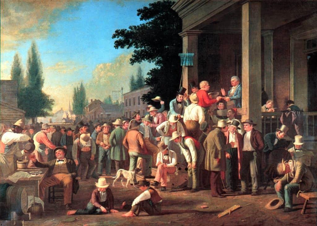 בחירות מחוזיות בארצות הברית, ג'ורג' כיילב בינגהם