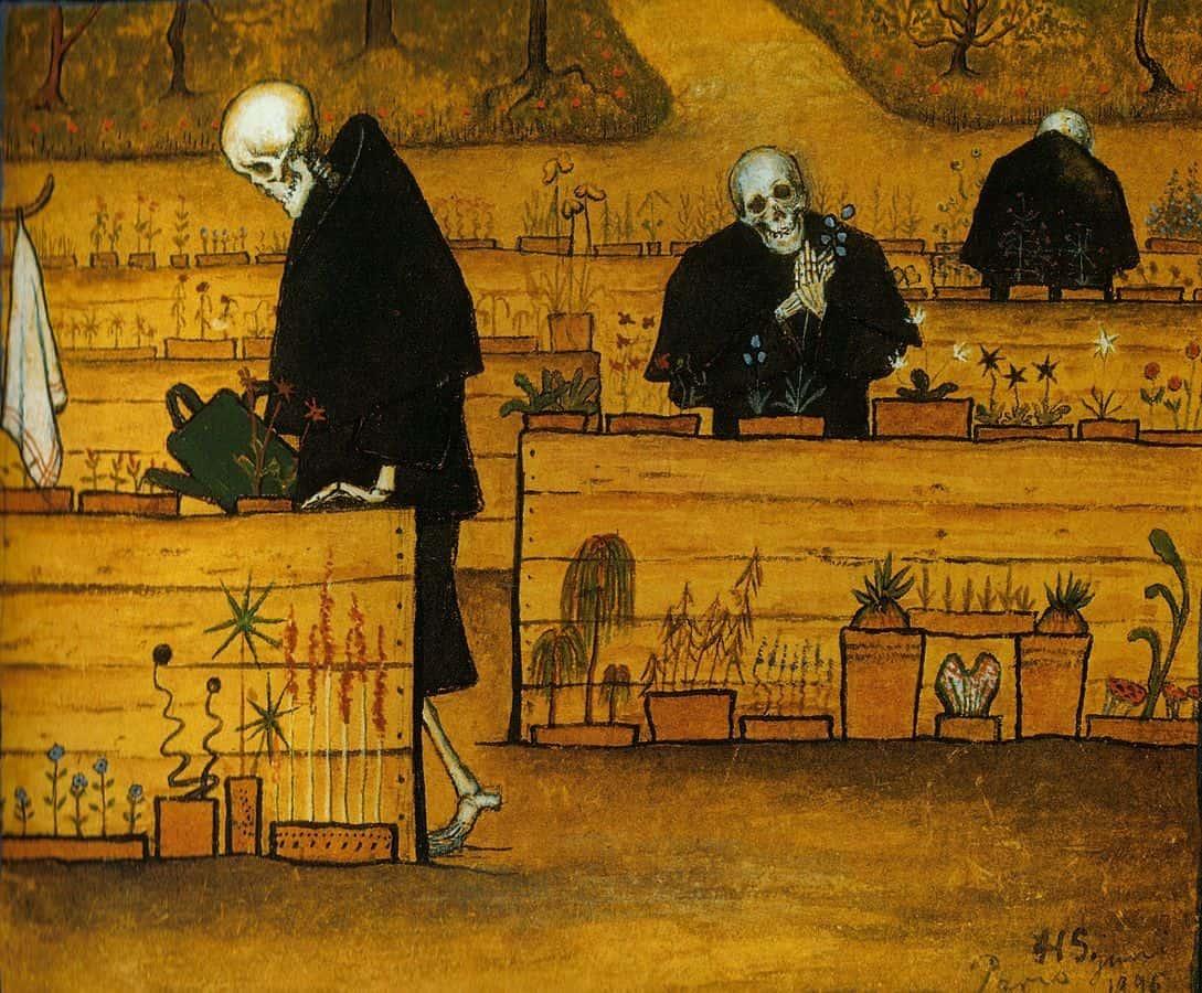גן המוות, הוגו סימברג