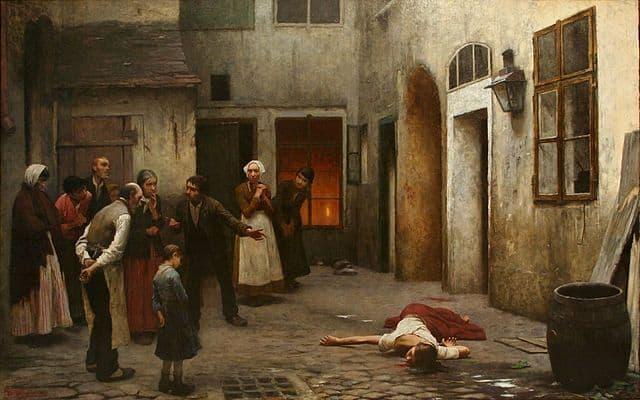 רצח בבית, יקוב שיקנדר