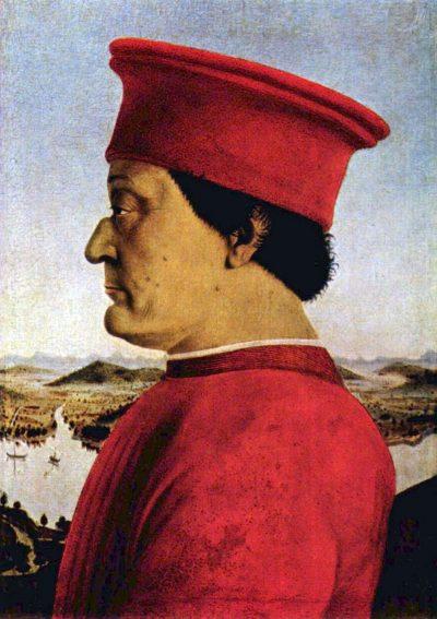פדריקו דה מונטפלטרו, פיירו דלה פרנצ'סקה