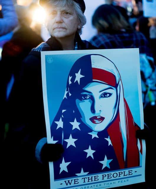 הגירה, הבית הלבן, ארצות הברית, אסלאם