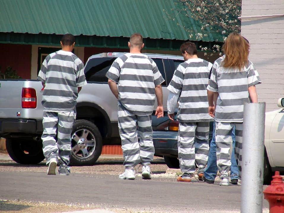 כלא, עבודות כפייה, ארצות הברית
