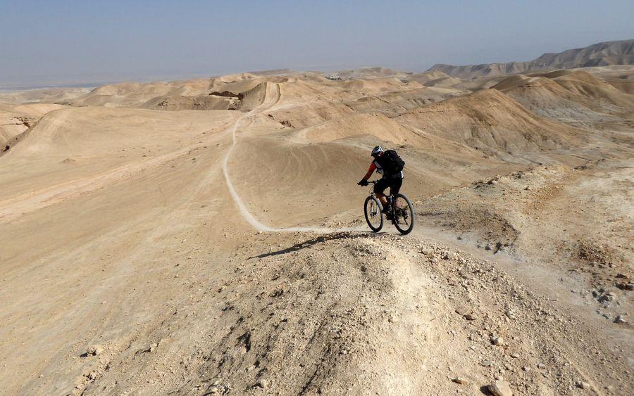 אופניים, סדום, הר סדום