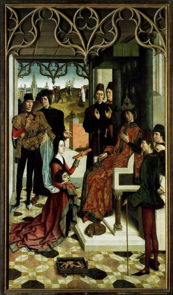 דירק בוטס, מבחן האש בפני הקיסר אוטו השלישי, מבחן האש