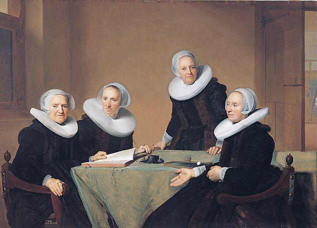 Johannes Cornelisz Verspronck, הארלם, בית חולים