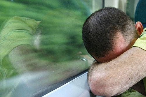 רדום, רכבת, שינה