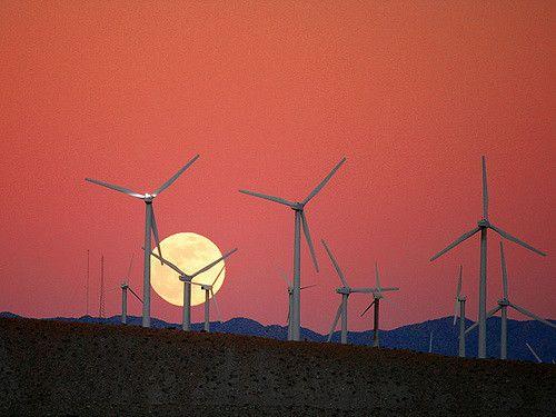 ירח, חוות רוח, קליפורניה
