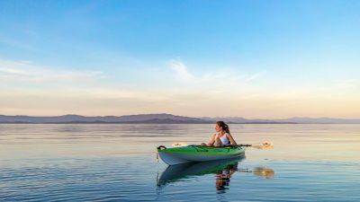 סירה, אגם, שיט, קנדה