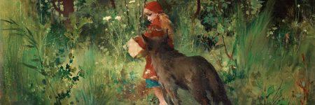 קרל לרסון, כיפה אדומה, זאב
