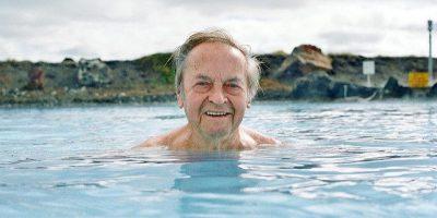 איסלנד, מעין, מים חמים, גבר