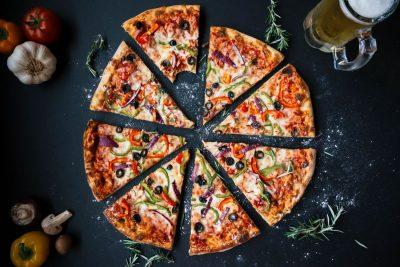 פיצה, משולשי פיצה