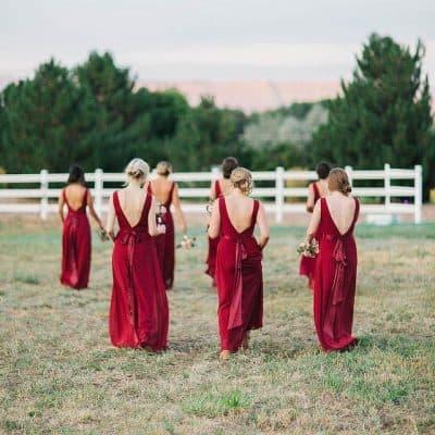 נשים, שמלה אדומה, חתונה