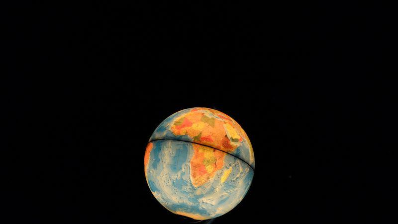 גלובוס, מפת העולם