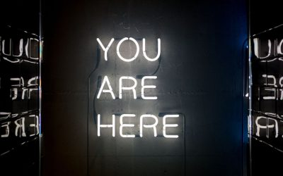שלט ניאון, You are here