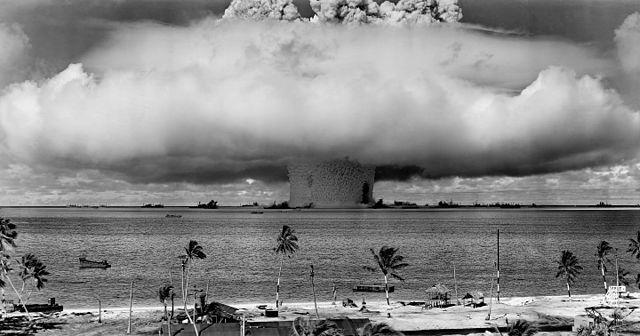 ביקיני, איי מרשל, פטריית בייקר, ניסוי גרעיני