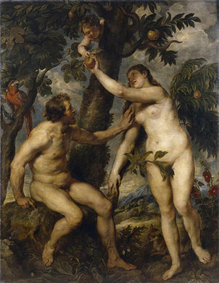 עץ הדעת טוב ורע, רובנס