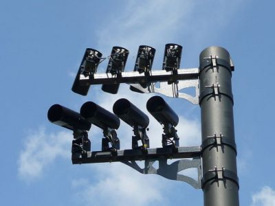מצלמות מעקב, מצלמות אבטחה, אנגליה