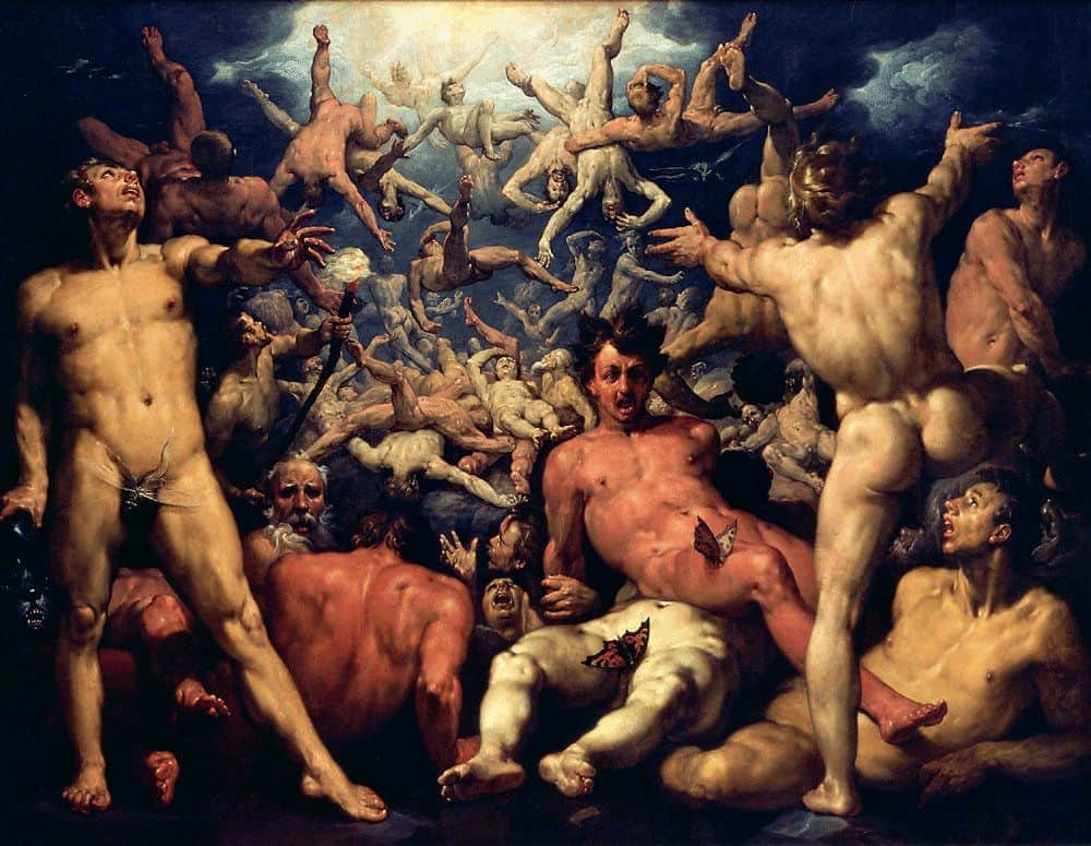 נפילת הטיטאנים, Cornelis van Haarlem