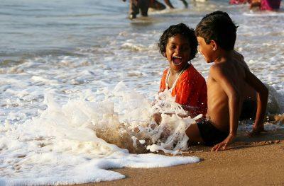 הנאה, כיף, חוף הים, ילדים