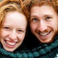 זוג, סוודר, ביחד