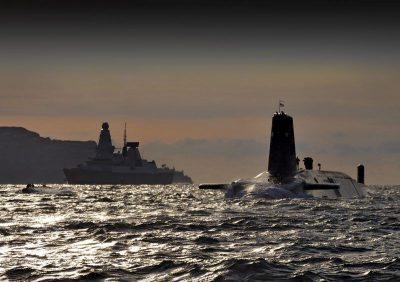 צוללת גרעינית, בריטניה, טרידנט, טילים