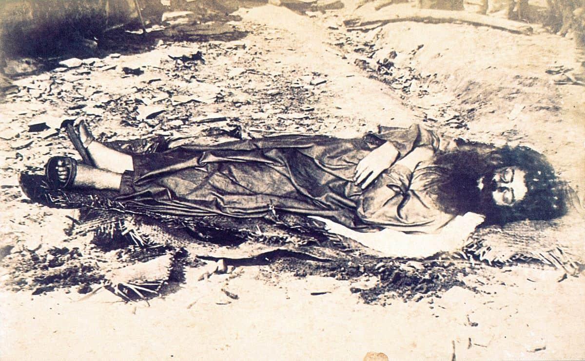 אנטוניו קונסליירו, גופה, תצלום