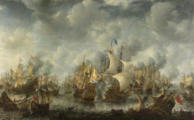 מלחמה אנגלו-הולנדית, שוונינחן, יאן רברהמס ורשטראטן