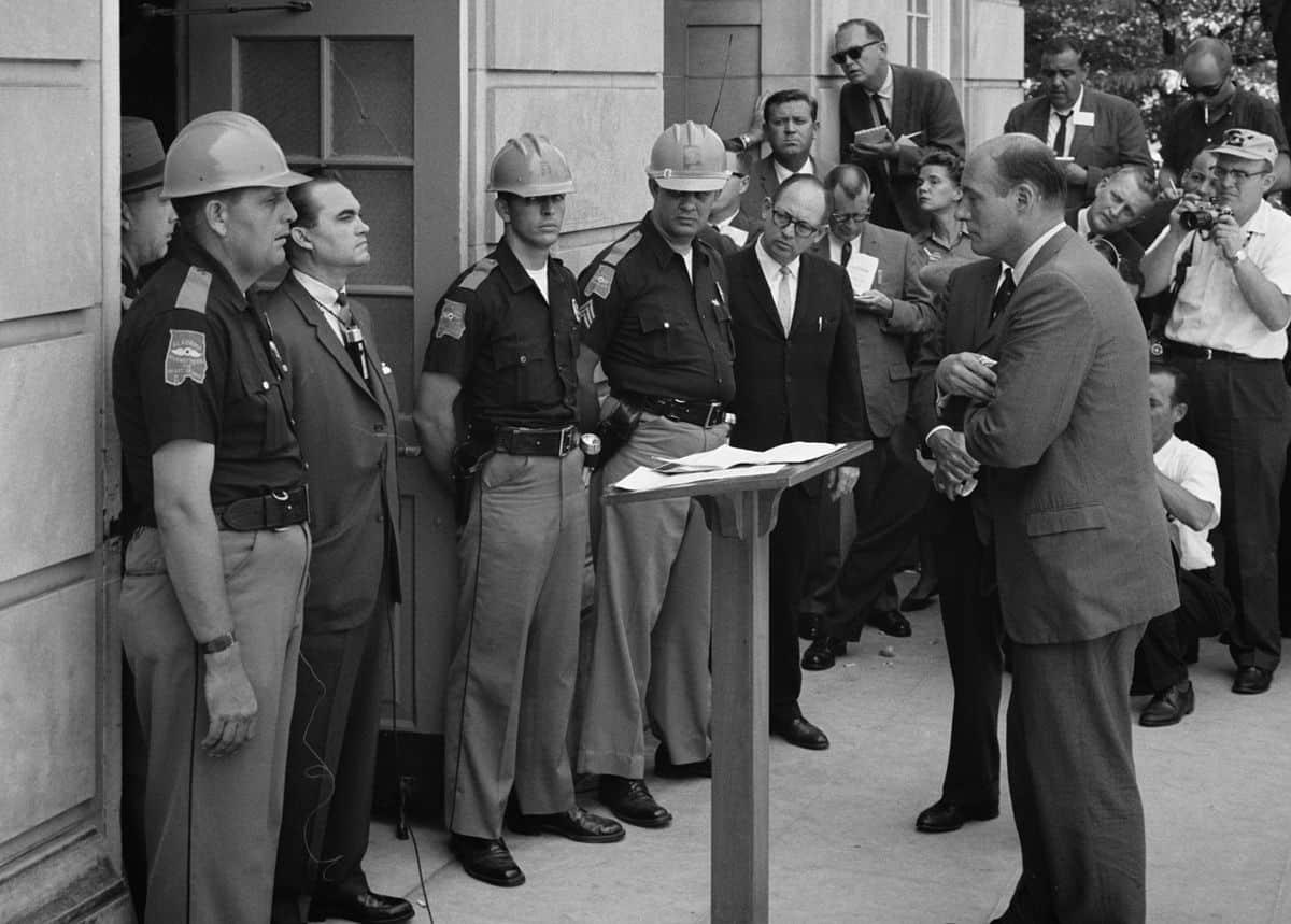 ג'ורג' וואלס, אלבמה, סגרגציה, 1963