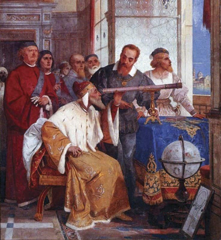 גלילאו, דוג'ה, ונציה, טלסקופ