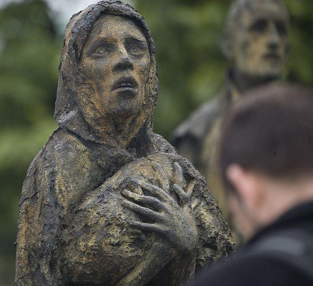 רעב, אירלנד, אנדרטה, זיכרון, דבלין