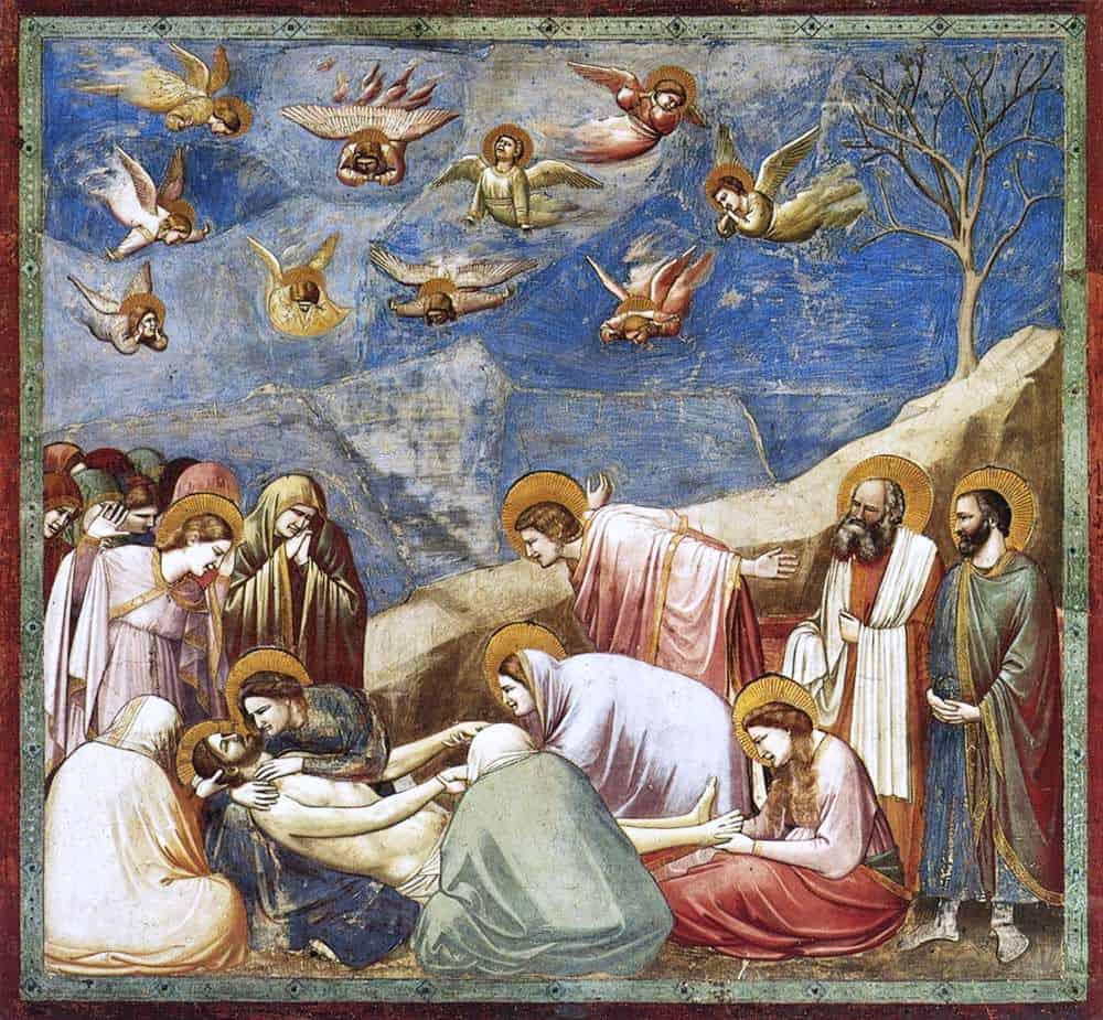 האבל על מות ישו, ג'וטו