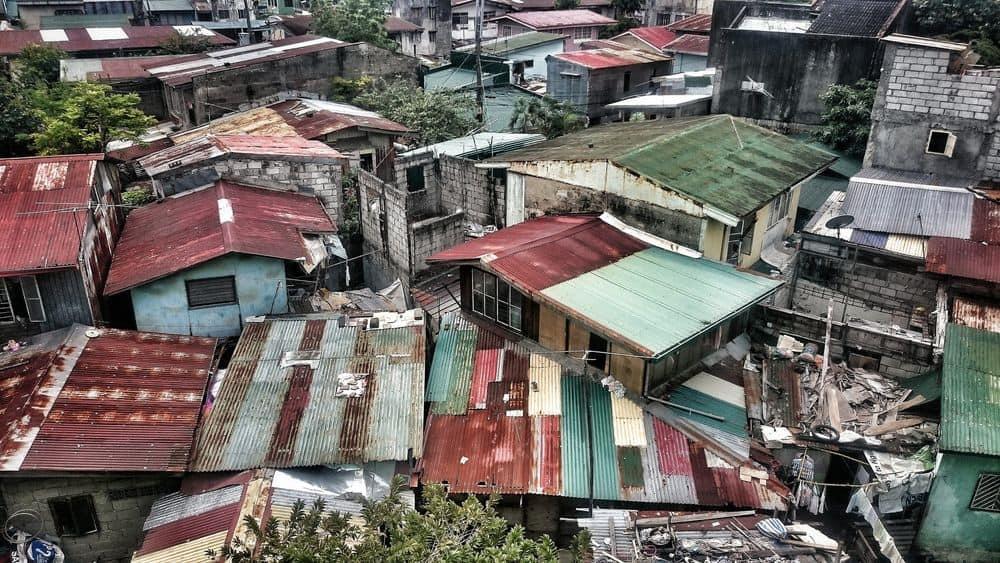 מנילה, שכונת עוני, פחונים