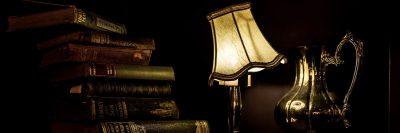 מנורת קריאה, ספרים