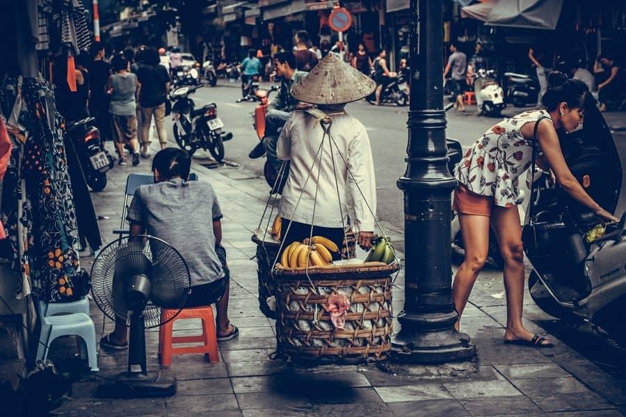 שוק, וייטנאם