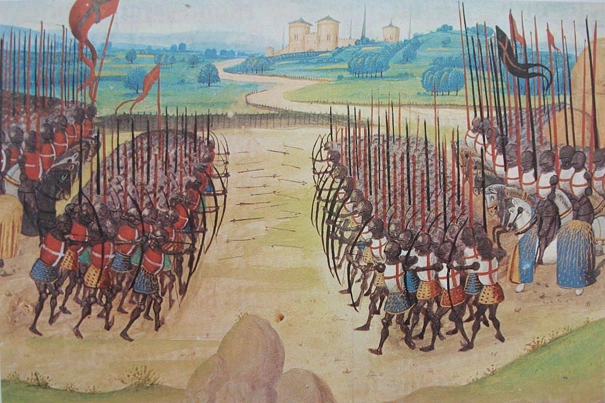 אז'ינקור, מלחמת מאה השנים, אנגליה וצרפת