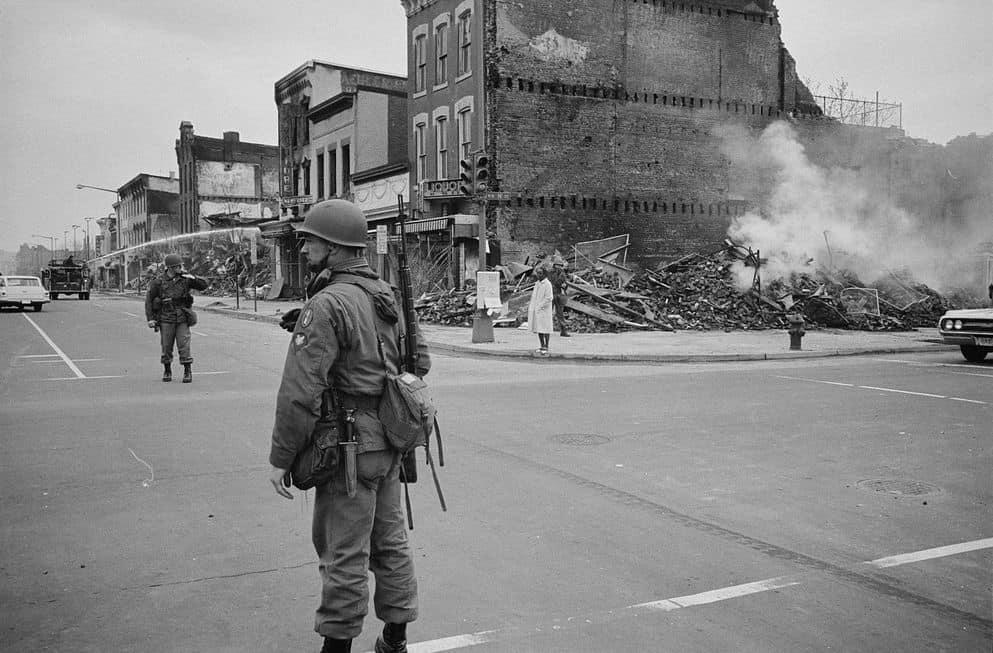 מרטין לותר קינג, 1968, מהומות, וושינגטון