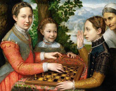 משחק השחמט, שחמט, סופוניסבה אנגוויסולה