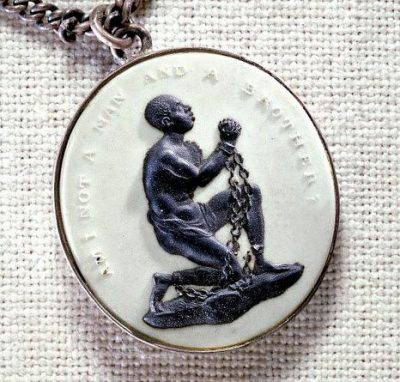 עבדות, סחר בעבדים, מדליון
