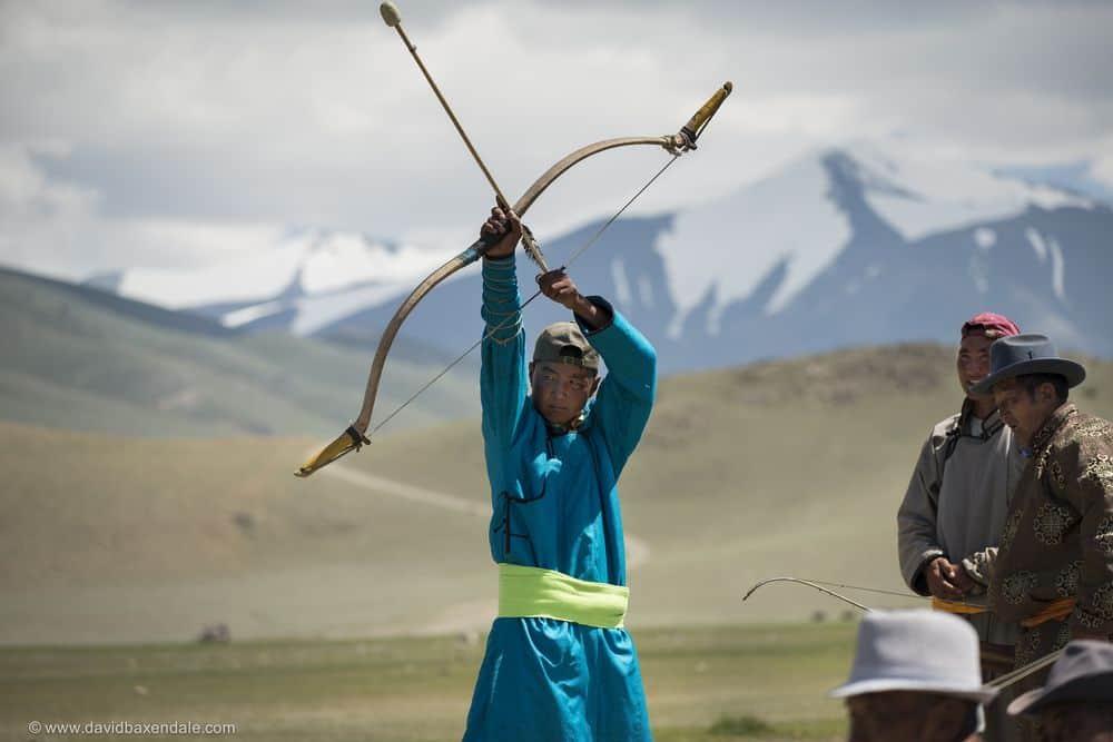 קשת, חץ וקשת, מונגוליה