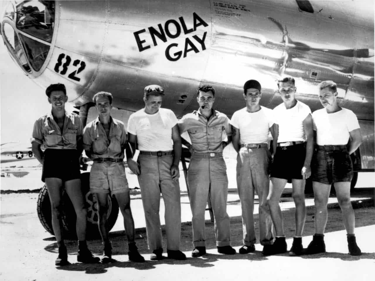 פצצת אטום, הירושימה, Little Boy, Enola Gay