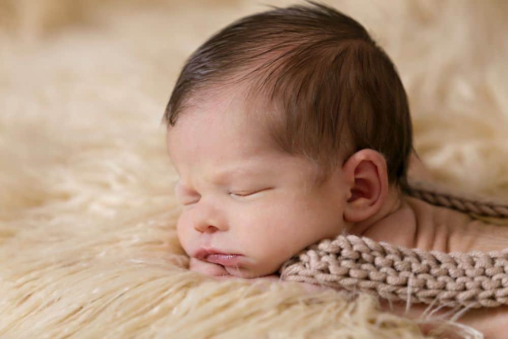 תינוק, שינה, נגיעה, מגע