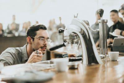 בריסטה, קפה, אספרסו