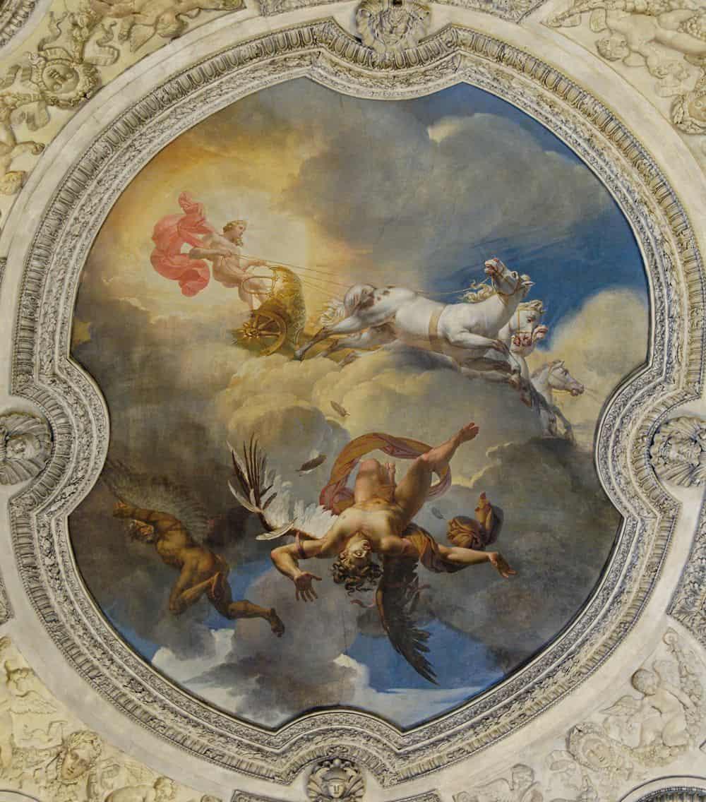 השמש או נפילת איקרוס, מרי-ז'וזף בלונדל