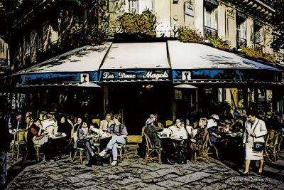 פריז, בית קפה, Les Deux Magots