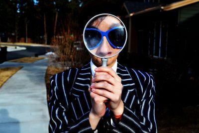 מבט, זכוכית מגדלת, משקפי שמש