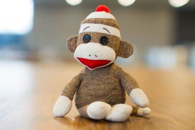 קוף, בובה