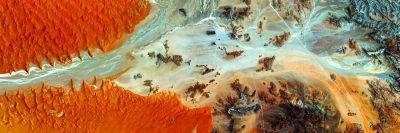 נמיביה, תצלום אוויר