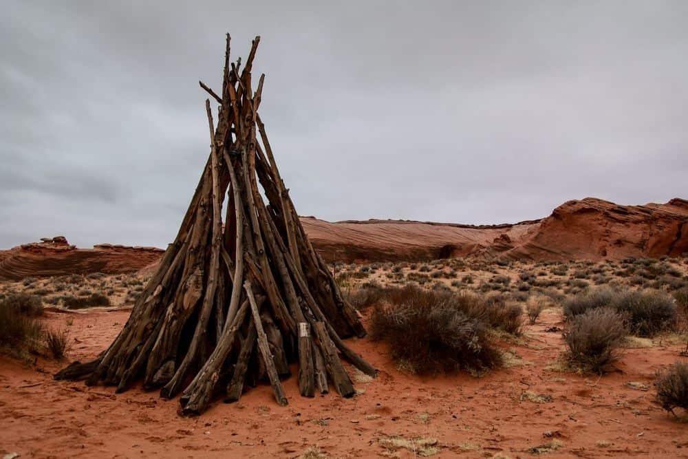 ניו מקסיקו, מדבר, מחסה