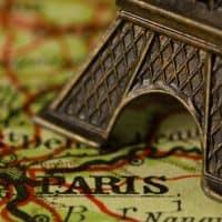 פריז, מפה, מגדל אייפל