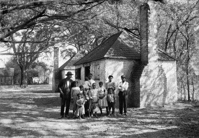 עבדות, חווה, ג'ורג'יה, עבדים